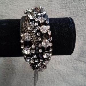 Multilayered Chain Bracelet